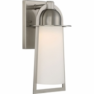 Quoizel MBU8408SS Malibu Modern Stainless Steel LED Outdoor 7.5  Wall Light Fixture
