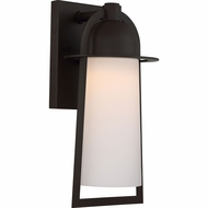 Quoizel MBU8408WT Malibu Contemporary Western Bronze LED Exterior 7.5  Lighting Wall Sconce