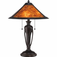 Quoizel MC1797TIB Mica Imperial Bronze Finish 23  Tall Table Light