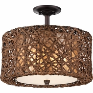 Quoizel MCRM1716PN Ruckman Palladian Bronze Finish 13.5  Tall Ceiling Light