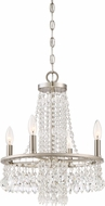 Quoizel MJT5004BN Majestic Contemporary Brushed Nickel Mini Chandelier Light