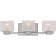 Quoizel MLD8603BN Melody Modern Brushed Nickel Finish 6.5  Tall 3 Light Vanity Lighting Fixture