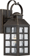 Quoizel MLS8405IBFL Miles Imperial Bronze Fluorescent Outdoor 5.5  Wall Sconce Lighting