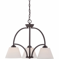 Quoizel MOR5103WT Morro Western Bronze Finish 19.5  Wide Mini Chandelier Light