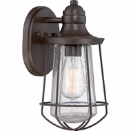 Quoizel MRE8406WT Marine Nautical Western Bronze Finish 11.5  Tall Exterior Lighting Sconce