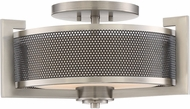 Quoizel MTP1718AN Metropolis Contemporary Antique Nickel Ceiling Lighting
