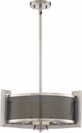 Quoizel MTP2820AN Metropolis Modern Antique Nickel Drum Drop Lighting