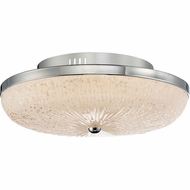 Quoizel MYS1616C Moon Rays Polished Chrome LED 16  Flush Mount Lighting