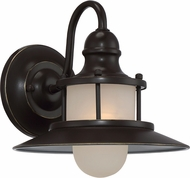 Quoizel NA8409PN New England Palladian Bronze Outdoor Wall Sconce Light