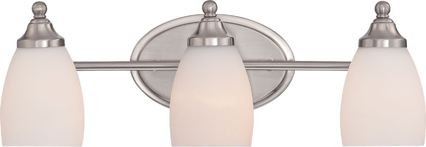 Fine Kitchen Bath And Beyond Tampa Thin Roman Bath Store Toronto Round Lowes Bathtub Drain Stopper Vinyl Wall Art Bathroom Quotes Old Bath Decoration RedImages For Small Bathroom Designs Quoizel NGT8603BN North Gate Brushed Nickel 3 Light Bath Light ..
