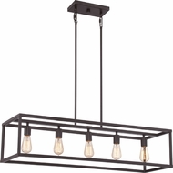 Quoizel NHR538WT New Harbor Contemporary Western Bronze Island Lighting