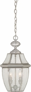 Quoizel NY1909P Newbury Pewter Outdoor Pendant Light