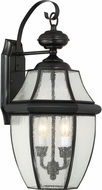 Quoizel NY8411K Newbury Mystic Black Outdoor Wall Light Sconce