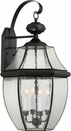 Quoizel NY8416K Newbury Mystic Black Outdoor Wall Lighting