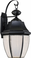 Quoizel NYL8411K Newbury LED Mystic Black LED Outdoor 10.25  Wall Sconce Light