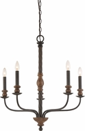 Quoizel ODL5005IB Odell Imperial Bronze Lighting Chandelier