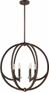 Quoizel ON2824WT Orion Contemporary Western Bronze Chandelier Lighting