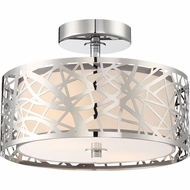 Quoizel PCAE1712C Platinum Collection Abode Contemporary Polished Chrome Overhead Lighting