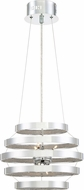 Quoizel PCAN2814C Platinum Collection Arena Modern Polished Chrome Xenon Drop Lighting Fixture