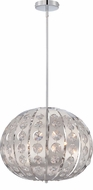 Quoizel PCAR2818C Platinum Collection Aura Polished Chrome Xenon Hanging Lamp