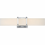 Quoizel PCAS8520C Platinum Collection Axis Contemporary Polished Chrome LED 19.25  Bathroom Sconce Lighting