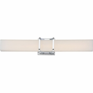 Quoizel PCAS8525C Platinum Collection Axis Modern Polished Chrome LED 25  Bath Lighting Sconce
