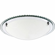 Quoizel PCAT1617C Platinum Collection Avanti Polished Chrome Finish 4.5  Tall Flush Mount Lighting