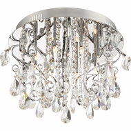 Quoizel PCER1718C Platinum Collection Enrapture Polished Chrome Xenon Overhead Light Fixture