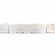 Quoizel PCFY8604C Platinum Collection Fantasy Polished Chrome LED 4-Light Bathroom Light