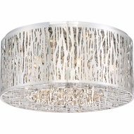 Quoizel PCGO1616C Platinum Collection Grotto Polished Chrome Xenon Overhead Lighting Fixture