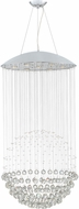Quoizel PCGX1826C Platinum Collection Galaxy Polished Chrome Halogen Multi Pendant Hanging Light