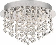 Quoizel PCHE1616C Platinum Collection Highrise Polished Chrome Flush Lighting