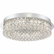 Quoizel PCIN1616C Platinum Collection Infinity Polished Chrome LED Ceiling Light