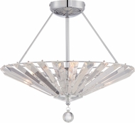 Quoizel PCSP1718C Platinum Collection Superior Polished Chrome Xenon Overhead Light Fixture