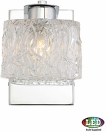 Quoizel PCSW8601CLED Platinum Collection Seaview Contemporary Polished Chrome LED Wall Lamp