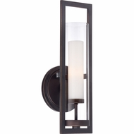 Quoizel PIE8701PN Pier Palladian Bronze Finish 16  Tall Lighting Wall Sconce