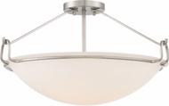 Quoizel QF1835BN Brushed Nickel Ceiling Light Fixture