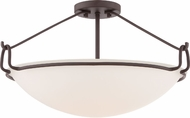 Quoizel QF1835WT Western Bronze Flush Lighting