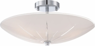 Quoizel QF1842C Modern Polished Chrome Flush Mount Lighting