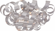 Quoizel RBN1628MN Ribbons Modern Millenia Xenon Flush Ceiling Light Fixture