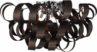 Quoizel RBN1628WT Ribbons Modern Western Bronze Xenon Ceiling Light Fixture