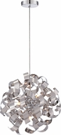 Quoizel RBN2817C Ribbons Modern Polished Chrome Xenon Drop Lighting