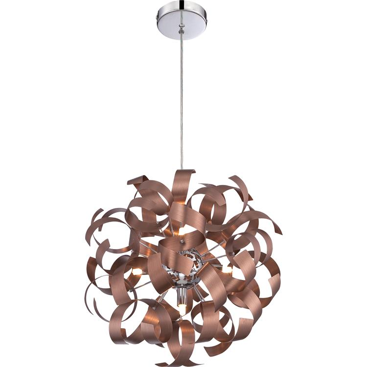 Quoizel Rbn2817sg Ribbons Modern Satin Copper Finish 17