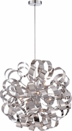 Quoizel RBN2823C Ribbons Contemporary Polished Chrome Xenon Drop Ceiling Lighting