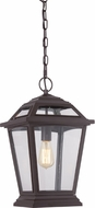 Quoizel RGE1911WT Ridge Traditional Western Bronze Exterior Ceiling Pendant Light