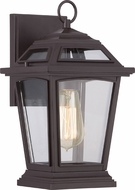 Quoizel RGE8407WTFL Ridge Traditional Western Bronze Fluorescent Outdoor Wall Light Fixture