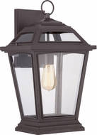 Quoizel RGE8411WTFL Ridge Traditional Western Bronze Fluorescent Outdoor Wall Mounted Lamp