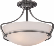 Quoizel RVE1716PA Riverside Polished Antique Nickel Home Ceiling Lighting