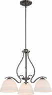 Quoizel RVE5103PA Riverside Polished Antique Nickel Mini Lighting Chandelier