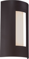 Quoizel RYD8408WT Ryland Contemporary Western Bronze LED Exterior Wall Light Sconce